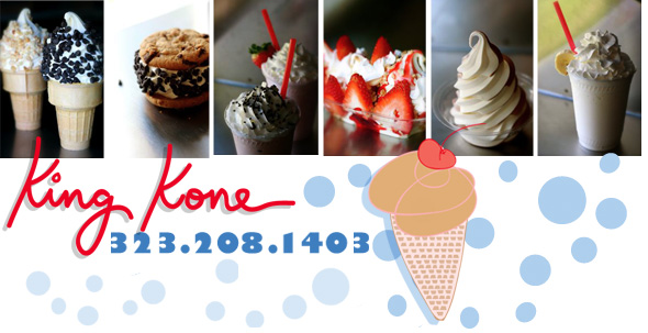 King Kone SOft Serve Ice Cream Treats