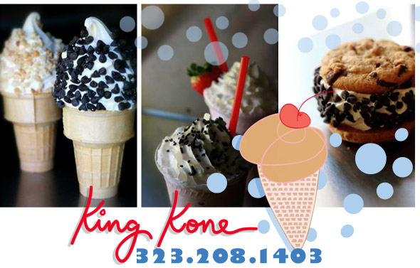 King Kone Soft Serve Ice Cream