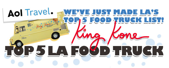King Kone Top 5 LA Food Trucks